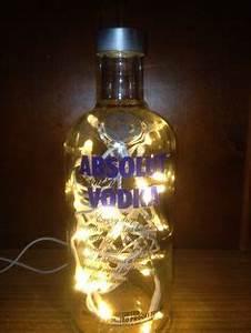 Flasche Mit Lichterkette : led flasche and lichter on pinterest ~ Lizthompson.info Haus und Dekorationen