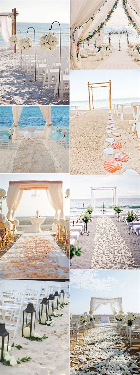 30 Brilliant Beach Wedding Ideas for 2018 trends Oh Best