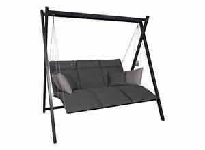 2 Sitzer Hollywoodschaukel : relax hollywoodschaukel 3 sitzer design smart stone ~ Frokenaadalensverden.com Haus und Dekorationen