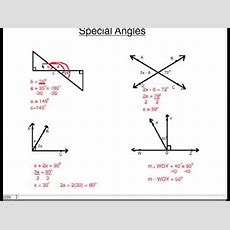 Special Angles Youtube