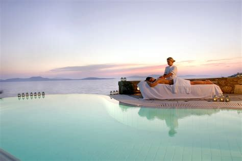 althea spa center  road  catharsis  mykonos grand