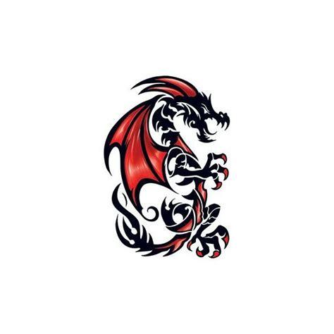 grand tatouage decalcomanie motif dragon tribal www