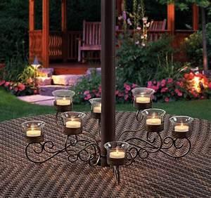 Outdoor Votive Candle Chandelier - Decor IdeasDecor Ideas