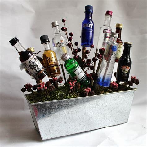 Christmas Liquor Gift Baskets