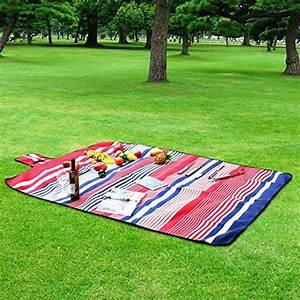 Picknickdecke 200 X 200 : homfa 200 x 200 cm picknickdecke xxl stranddecke aus fleece wasserdicht gro faltbar leicht mit ~ Eleganceandgraceweddings.com Haus und Dekorationen