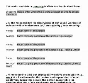 Company health and safety policy template 28 images construction health and safety policy template for small business gas forms health and safety policy template cheaphphosting Images