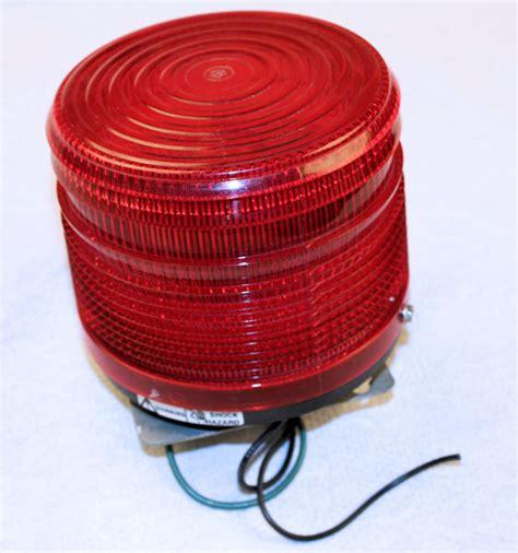 used federal signal 141st electraflash strobe warning light