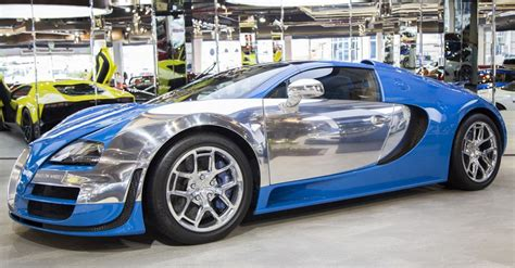 The Bugatti Made by Bugatti Only Made 3 Of These Special Edition Veyrons And