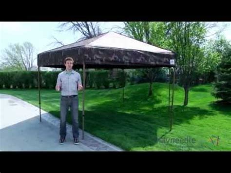 hub shelter canopy camo product review video youtube