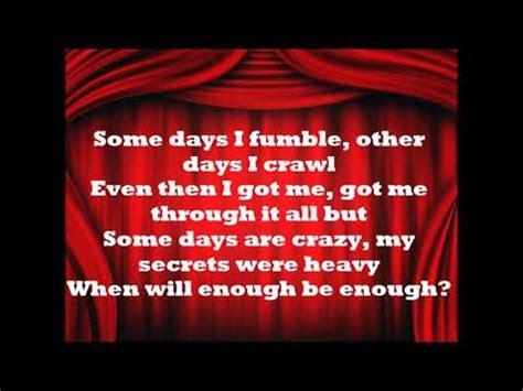 rowlene curtain call lyrics youtube