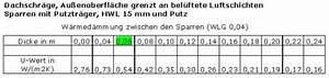 U Wert Tabelle Baustoffe : u wert tabelle dachschr ge kehlbalken drempel ~ Frokenaadalensverden.com Haus und Dekorationen
