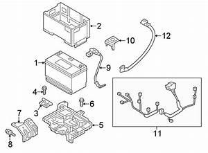 Hyundai Santa Fe Ground Cable  Wiring Assembly