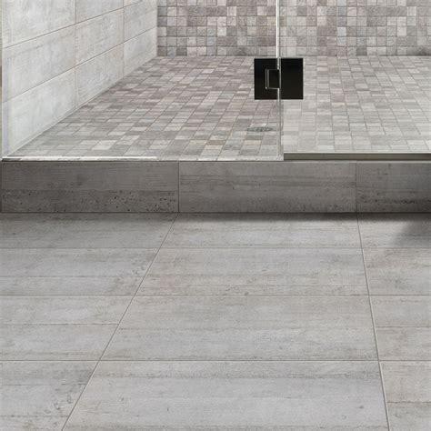 carrelage mural industry premium en gr 232 s gris 15 x 60 cm leroy merlin salle de