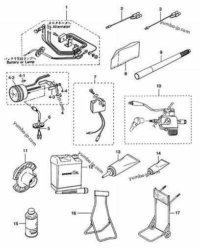 Parts Tohatsu Outboard Optional Diagram Hp Motor
