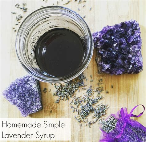 lavender simple syrup homemade lavender simple syrup the friendly fig