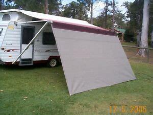 shade curtainprivacy screen  caravan roll  awning xmft  ft ebay