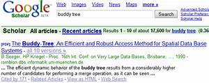 google search results show metadata for scientific papers With scientific documents search