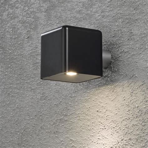 amalfi black low voltage garden light 12v outdoor wall light