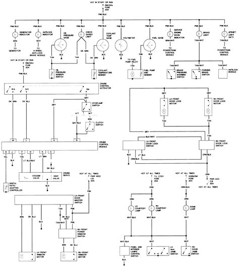 1990 Chevy K5 Blazer Radio Wiring Diagram by Repair Guides