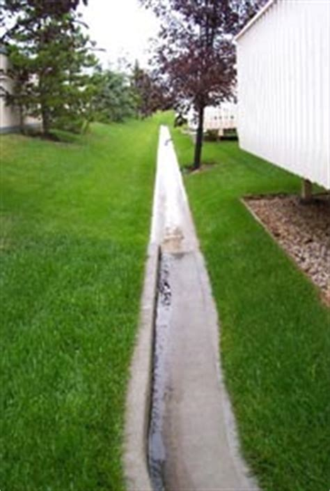 Drainage Swales   Commercial and Multi family :: City of
