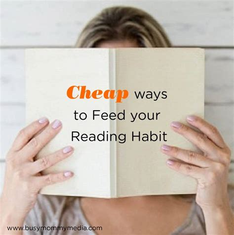 Cheap Ways To Feed Your Reading Habit