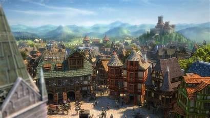Fantasy Village Town Building Rustic Empire Mmo