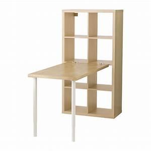 Séparateur De Pièce Ikea : kallax combinaison bureau motif bouleau ikea bureau ~ Dailycaller-alerts.com Idées de Décoration