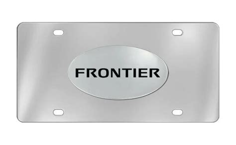 Decorative Front License Plate - nissan frontier decorative vanity front license plate ebay