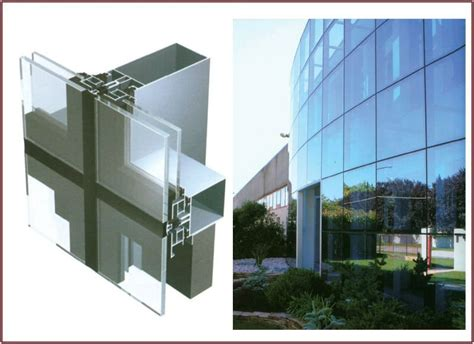 unitized curtain wall glazing invisible aluminum frame glass unitized curtain wall buy