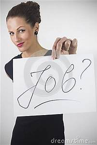 UNEMPLOYED WOMAN Stock Image - Image: 30322711