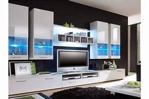 Meuble Design Tv Mural : meuble tv design mural raken chloe design ~ Teatrodelosmanantiales.com Idées de Décoration