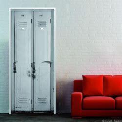 parure bureau cuir sticker de porte trompe l 39 oeil pour une décoration
