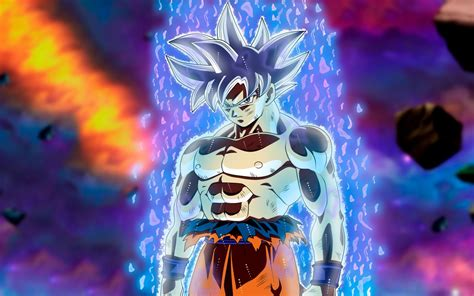 wallpaper ultra instinct goku migatte  gokui dragon