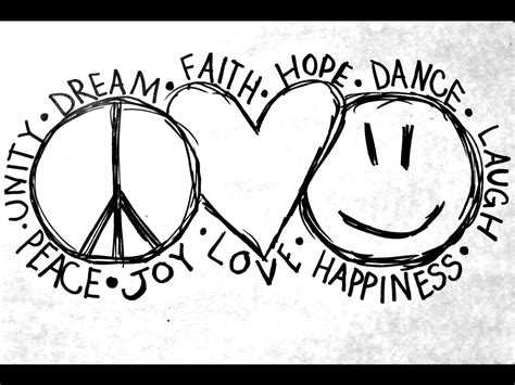 peace love  happiness   rebelrevolution