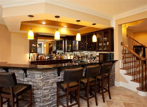 Home Bar Design Photos by Basement Remodeling Ideas Bar For Basement