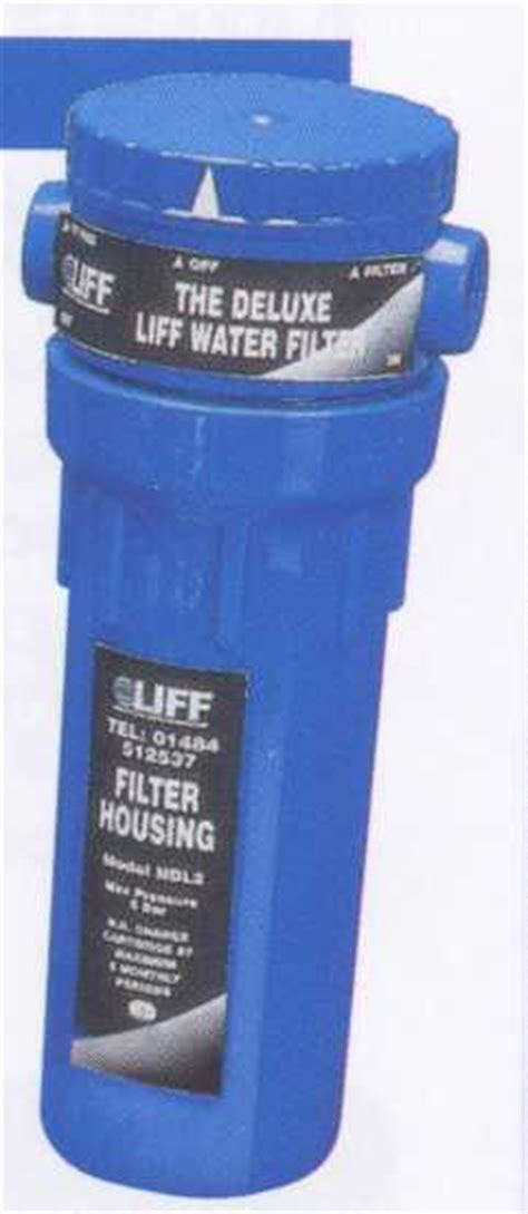 liff ndl domestic   water filter housing