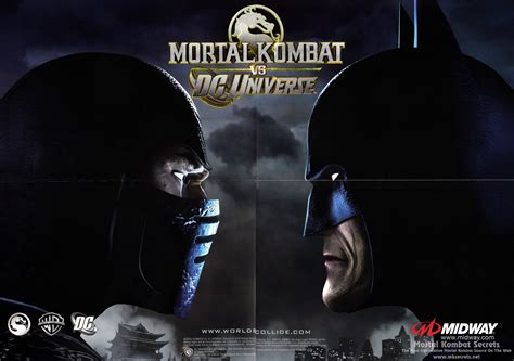mortal kombat  dc universe posters mortal kombat