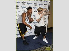 Full Sized Photo of justin bieber joins floyd mayweather