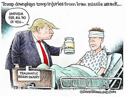 Trump Cartoon Cartoons Granlund Injuries Opinion Donald