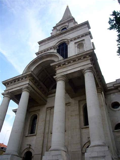 christ church spitalfields hawksmoor london building