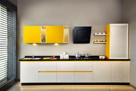 kitchen triangle design with island bespoke decor sleek modular kitchens kochi