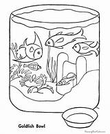 Coloring Fish Pages Bowl Fishing Printable Sheet Clipart Drawing Mitten Pet Library Colour Animal Cartoon Aquarium Popular Comments Coloringhome Vermeer sketch template