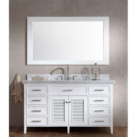 kensington single basin bathroom vanity  shutter style