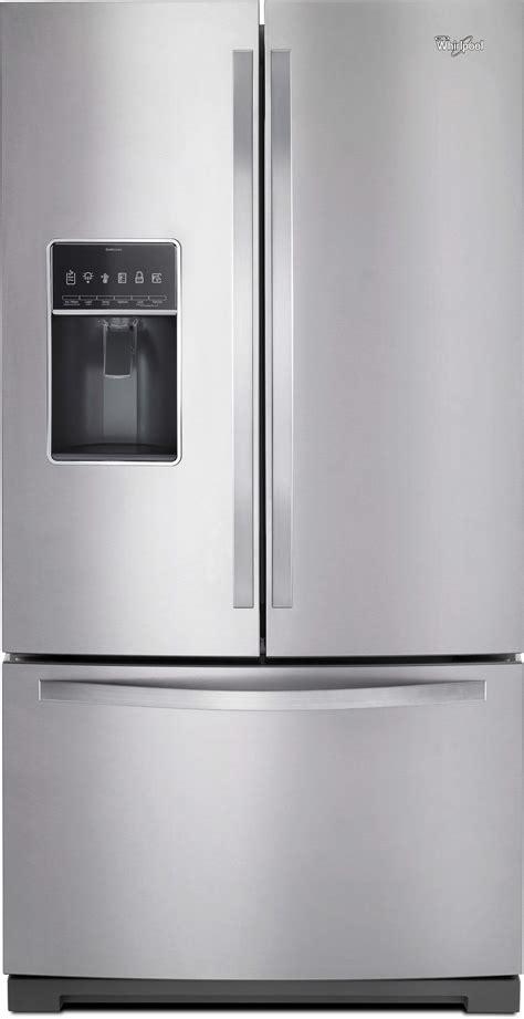 whirlpool wrfsdem   french door refrigerator