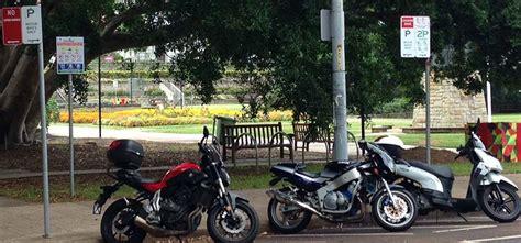 motorbike parking city  newcastle