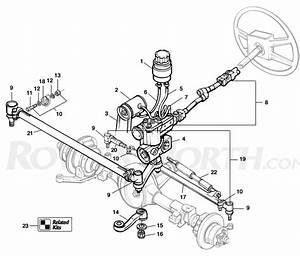 1995 Defender 90 Steering Linkage Diagram