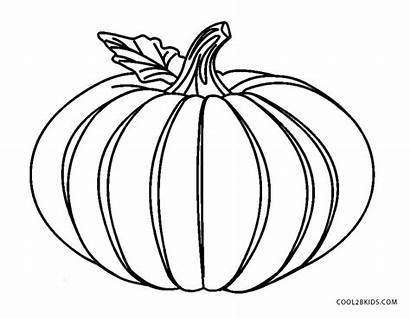 Pumpkin Coloring Printable Pages Cool2bkids Drawing Halloween