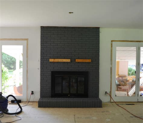 brick fireplace makeover some options of contemporary brick fireplace makeover Modern