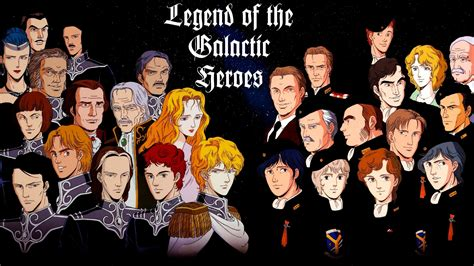 """Classic Anime In Review """"legend Of The Galactic Heroes""""  The Chewns"""