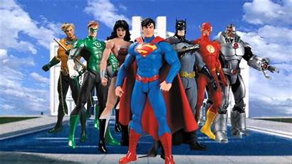Justice 52 League Dc Wallpapers 7pack Collectibles